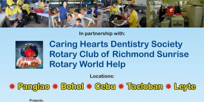 ROTARY DENTAL MISSION TO THE PHILIPPINES January 4 to January 24, 2014