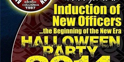 Aklanon Santo Nino Association Of British Columbia Induction of New Officers & Halloween Party 2014