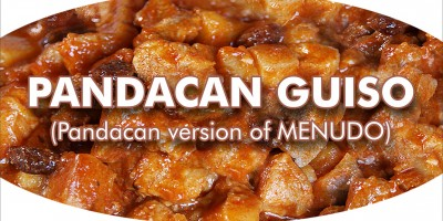 PANDACAN GUISO (Pandacan version of MENUDO)