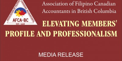 Association of Filipino Accountants of BC elevating members' profile and professionalism