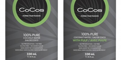 CoCos~Pure Premium Coconut Water wants to hydrate you Vancouver!