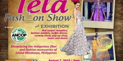 TELA Fashion Show and Exhibition Promoting Philippine Fashion August 7, 2015