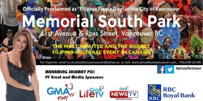 """""""PINOY FIESTA 2015"""" August 9th, 2015 featuring Solenn Heussaff and much more……"""