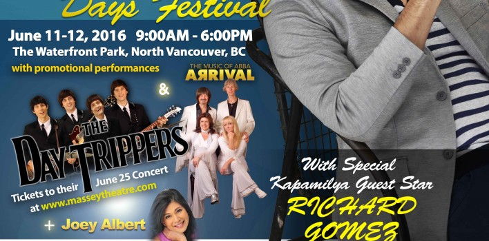 Philippine Days Festival June 11-12 at Waterfront Park, North Vancouver