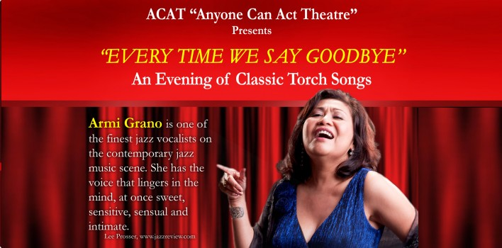 """""""Every Time We Say Goodbye"""" – An Evening of Classic Torch Songs"""
