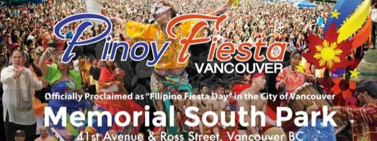 Pinoy Fiesta 2016 Sunday, August 14