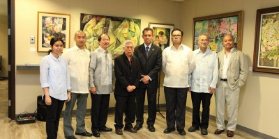 Dimasalang III Art Exhibit at the Philippine Consulate