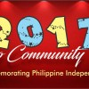 2017 Filipino Community Events Schedule