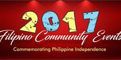 2017 Filipino Community Events Schedule