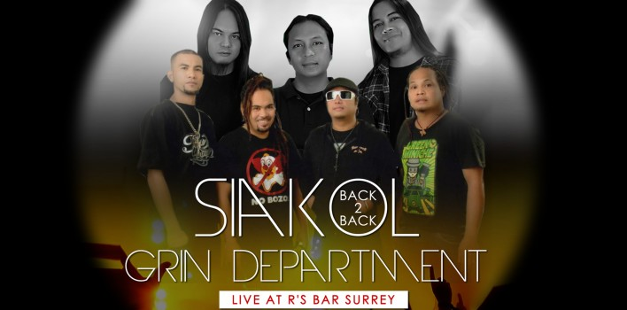 Siakol and Grin Department at R's Bar Surrey