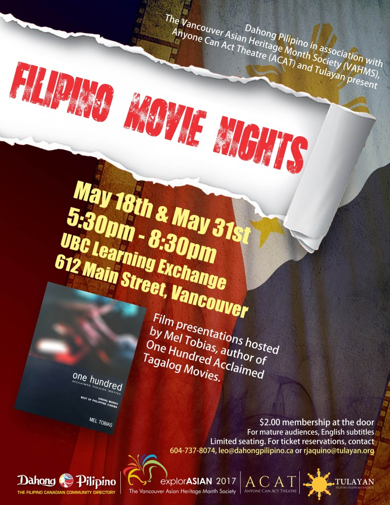 Filipino Movie Nights poster