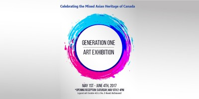 Generation One Art Exhibition May 1 to June 4, 2017