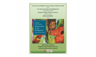 "Book launching of ""Hotspot, Cool Country Biodiversity in the Philippines"""