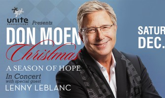 Don Moen Christmas concert in Vancouver!