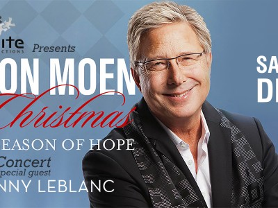 Don Moen Christmas concert in Vancouver, December 16th!