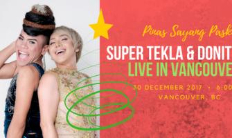 SUPER TEKLA & DONITA NOSE, LIVE IN VANCOUVER