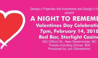 A NIGHT TO REMEMBER Valentines Day Celebration