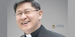 Cardinal Luis Antonio Tagle in Vancouver on March 19