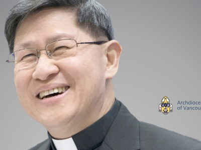 Cardinal Luis Antonio Tagle in Vancouver on March 19