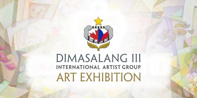 Dimasalang III International Artist Group Art Exhibition May 1 – 31st, 2018
