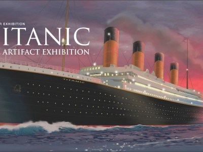 Titanic: The Artifact Exhibition at Lipont Place, Richmond